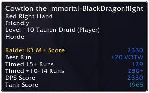RaiderIO Addon & Client - WoW Raid & Mythic+ Rankings | Raider IO