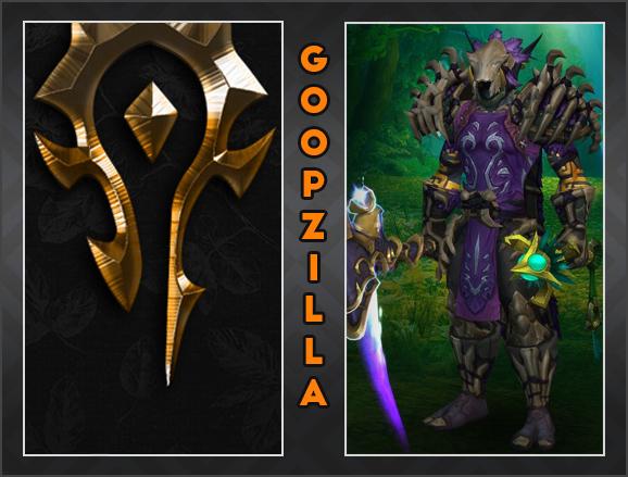 Player Spotlight: Goopzilla   Raider IO